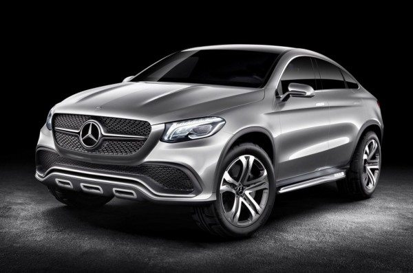 New Mercedes Concept Coupe SUV to spawn a BMW X6 rival