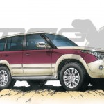 Check out the Next generation Mitsubishi Pajero in this rendering