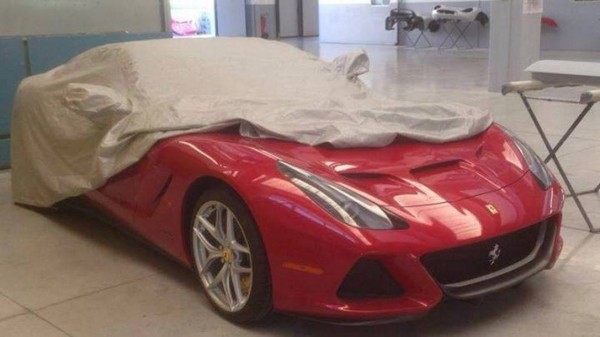 [Quick Post] One Off Ferrari SP America launch soon
