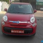 Fiat 500L spotted in India; 2015 Launch likely