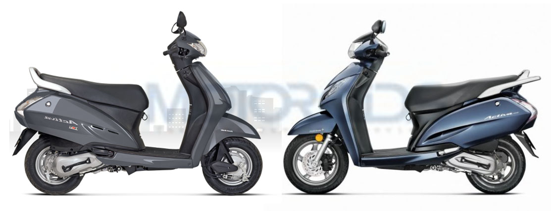 Honda Activa 125 vs Activa 110- Price, Features and Spec sheet comparison