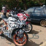 [Spy Images] Is KTM RC200 being benchmarked against the Honda CBR250R?