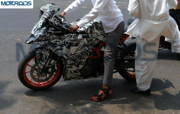 KTM RC390 India launch soon; More spy images pour in!