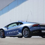Italian Police adds the new Lamborghini Huracan to their fleet