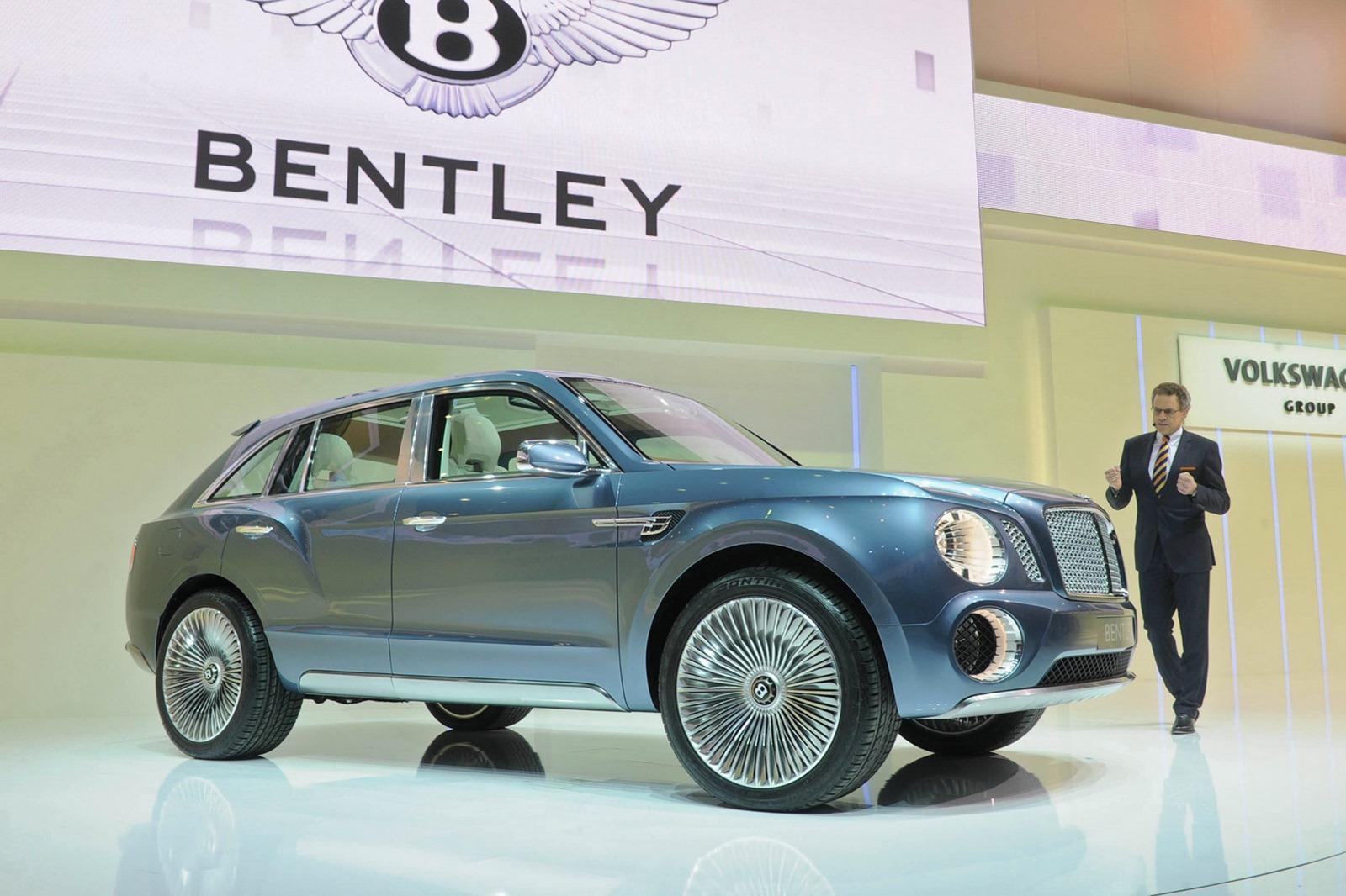 2014 Bentley Truck Bentley suv gets go-ahead from
