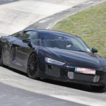 VIDEO : 2015 Audi R8 V10 Spied on Nurburgring