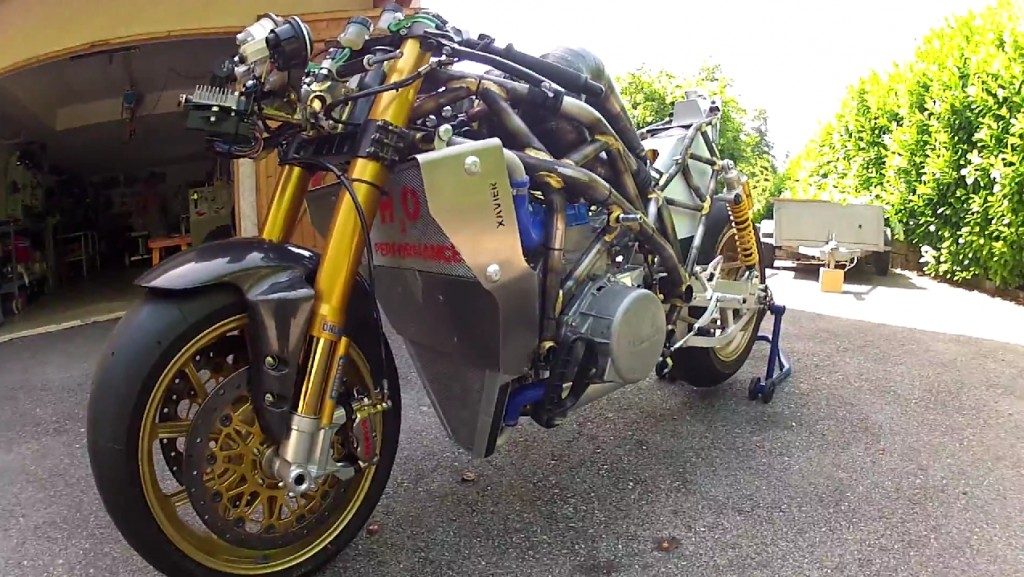 Hand Made 3 Cylinder 700cc Motorcycle (2)