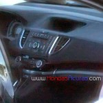 Honda CR-V Facelift Interiors Spied