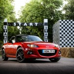 Mazda MX-5 25th anniversery special edition scheduled to be unveiled at Goodwood