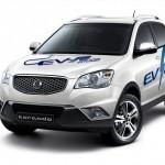 Ssangyong showcases Korando C EV-R range extender hybrid in Korea