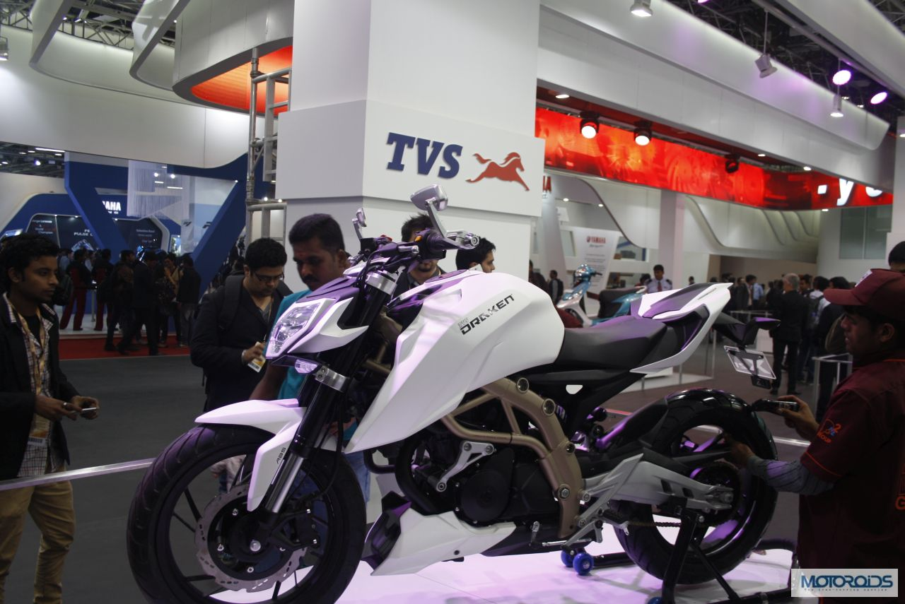 Five Upcoming TVS Motorcycles and Scooters in India 2015 [Victor, Draken-X21, Apache 250, TVS Graphite based scooter, TVS-BMW Motorcycle]