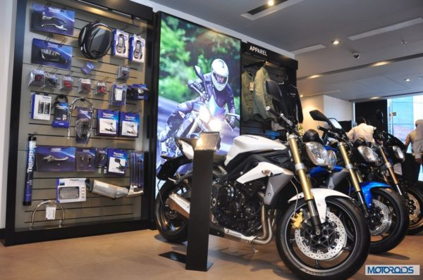 Triumph Motorcycles, entered the Indian market in November last year.