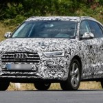 New 2015 Audi Q3 facelift pictures emerge with finer details