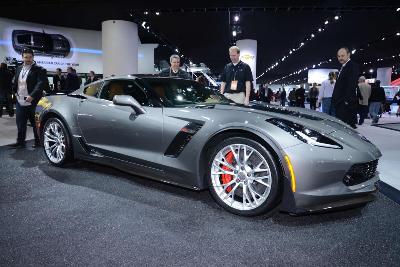 new 2015 chevrolet corvette z06 power figures declared details - Corvette 2015 Z06 Black