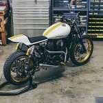 Build: 2014 Harley-Davidson Street 500 custom flat-tracker
