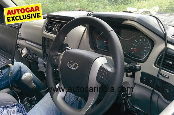 Pictures: 2015 Mahindra Scorpio features refreshed interiors