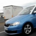 2015 Skoda Fabia Caught on Tape