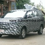 Upcoming 2016 Toyota Innova Spied Again