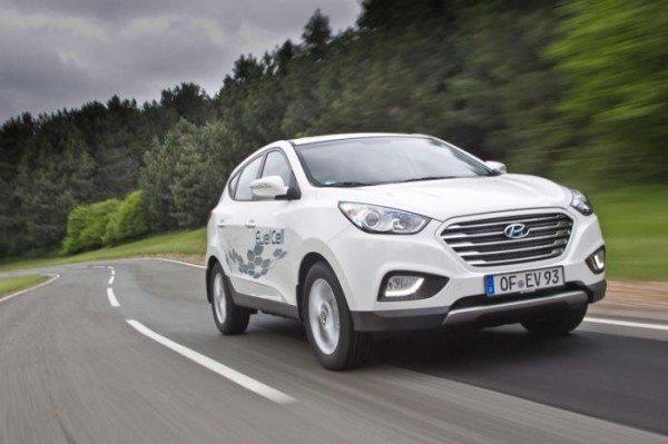 Hyundai ix35 Fuel Cell Creates a Record; Details here