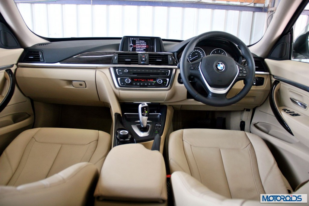 New BMW GT D Review Graciously Talented Page Of - 2014 bmw 3 series interior