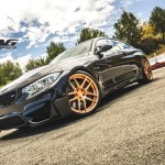 Tag Motorsport's BMW M4 with Gold Wheels