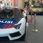 Aventador and Gallardo for the Indonesian Police