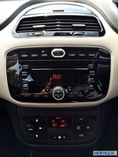 Punto Evo dashboard (1)