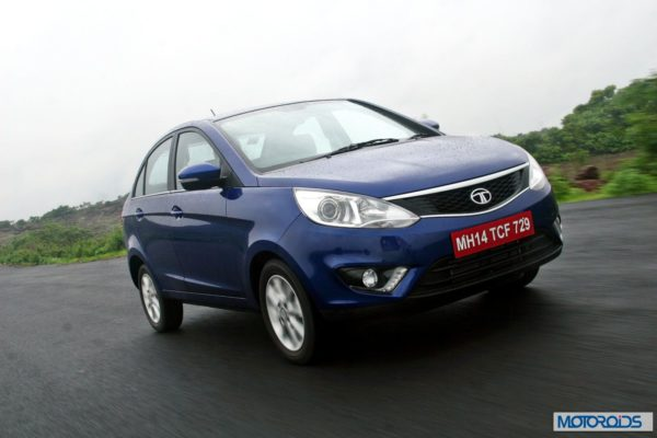 Tata Zest 1.2 revotron petrol front (2)