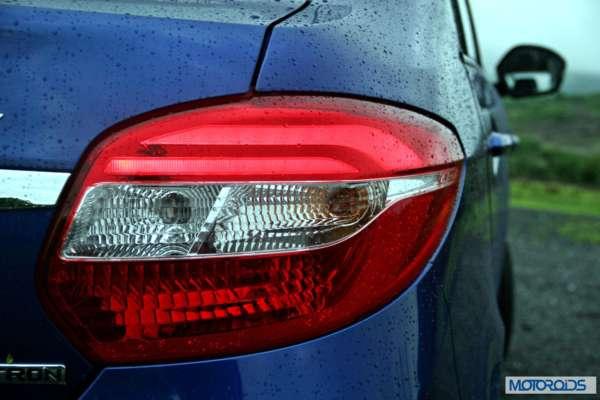 Tata Zest 1.2 revotron petrol tail lamp (3)