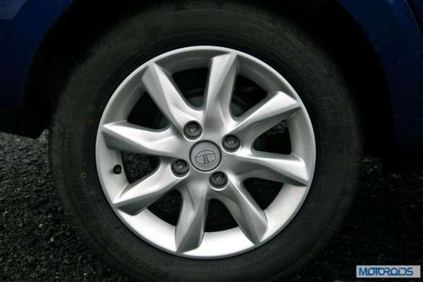 Tata Zest 1.2 revotron petrol wheel