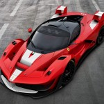 VIDEO: LaFerrari XX develops some serious positive camber on track