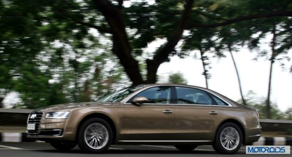 new 2014 Audi A8L India action (3)