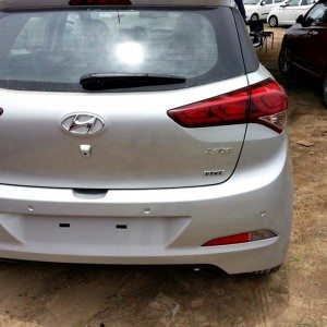 2014 Hyundai i20 rear