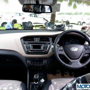 2014 Hyundai i20 steering wheel