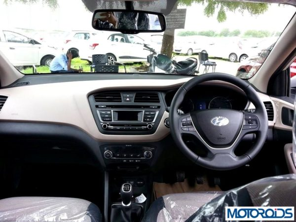 2014 Hyundai i20 steering wheel