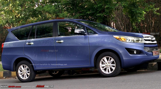 Posted by Karan Tripathi in News , Toyota , Toyota Innova 4 Comments