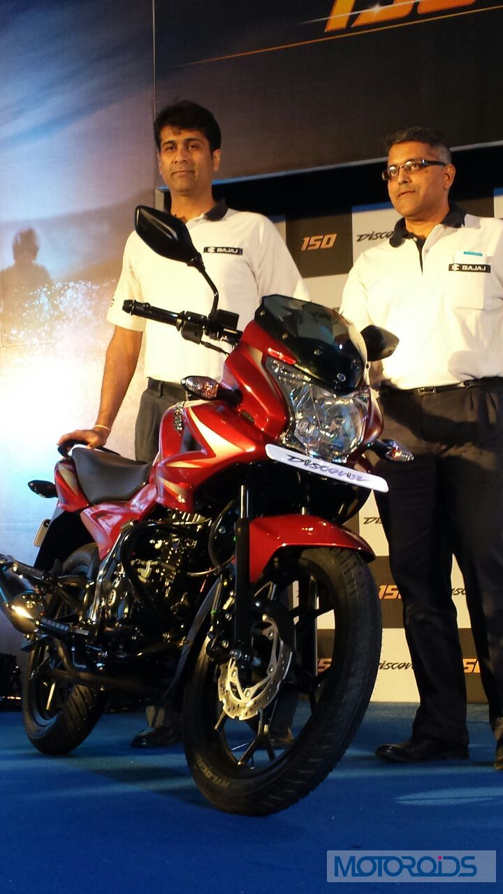 Image Gallery: New 2014 Bajaj Discover 150F and 150S