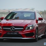 Mercedes-Benz CLA45 AMG: Quick Track Drive Review