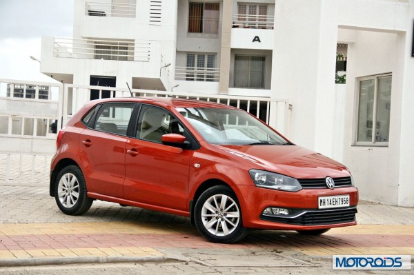 New 2014 Volkswagen Polo 1.5 TDI Side profile right