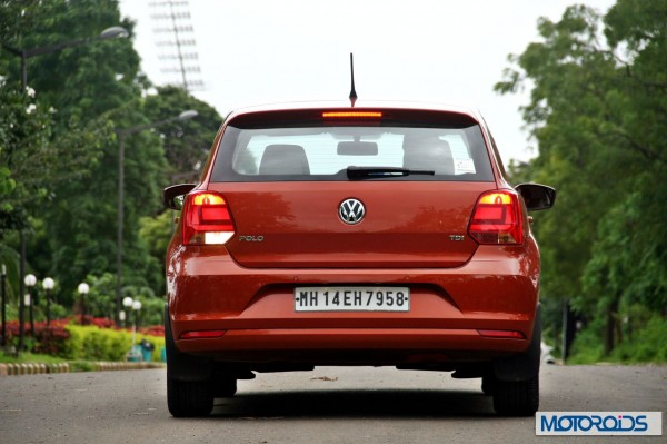 New 2014 Volkswagen Polo 1.5 TDI rear view 2