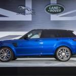Range Rover Sport SVR makes its global debut at Pebble Beach