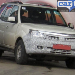 Tata Safari Storme Facelift Spied; Details Here