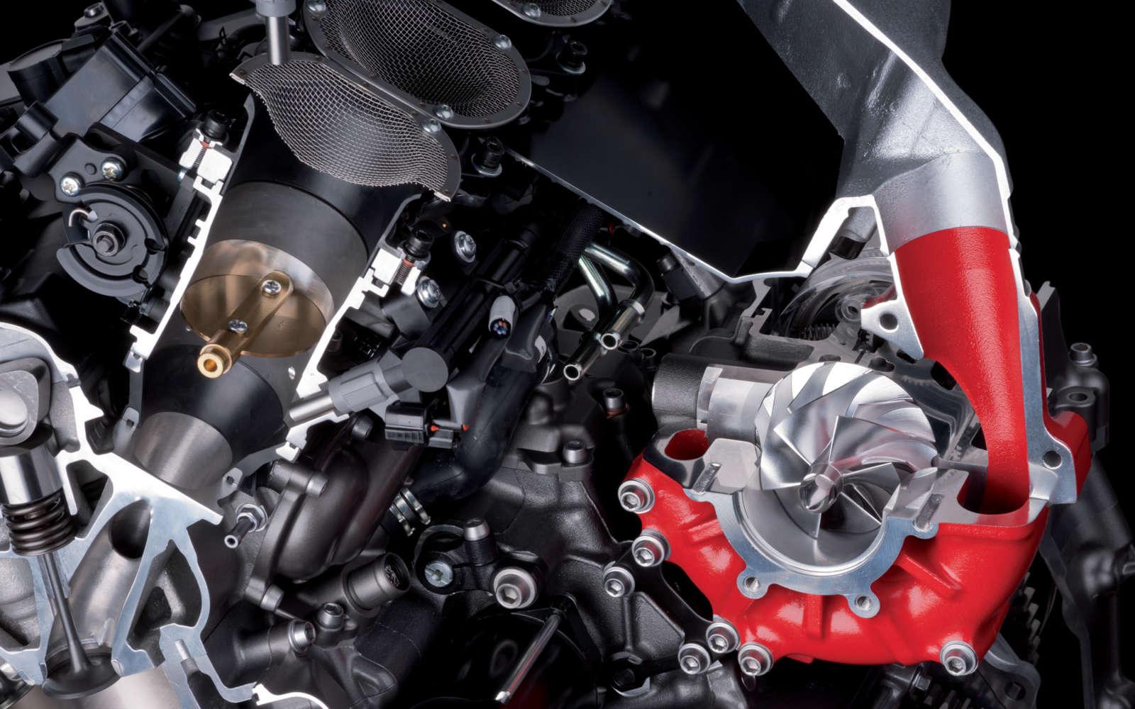 H2 R Super Charged Kawasaki Motorcycle