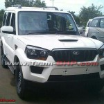 The 2014 Mahindra Scorpio Facelift uncovered