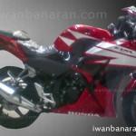 2015 Honda CBR150R spied undisguised