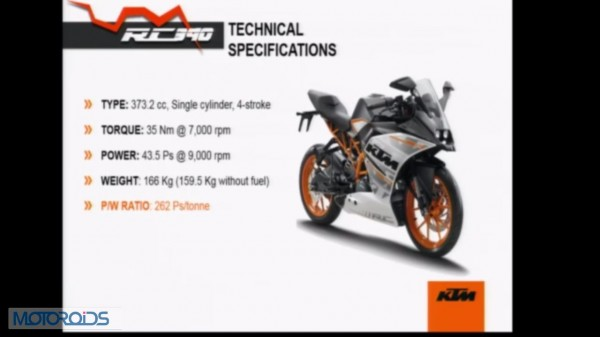 live from launch: new ktm rc200 and rc390 | motoroids