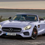 Mercedes-Benz AMG GT Roadster gets rendered