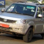Spied: Tata Safari Storme Facelift