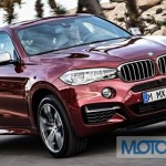 New 2015 BMW X6 showcased at Paris Motor Show