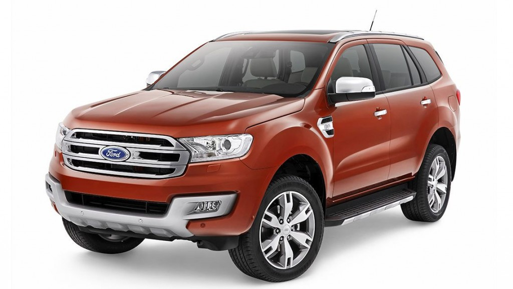2015 ford endeavour india Car Tuning